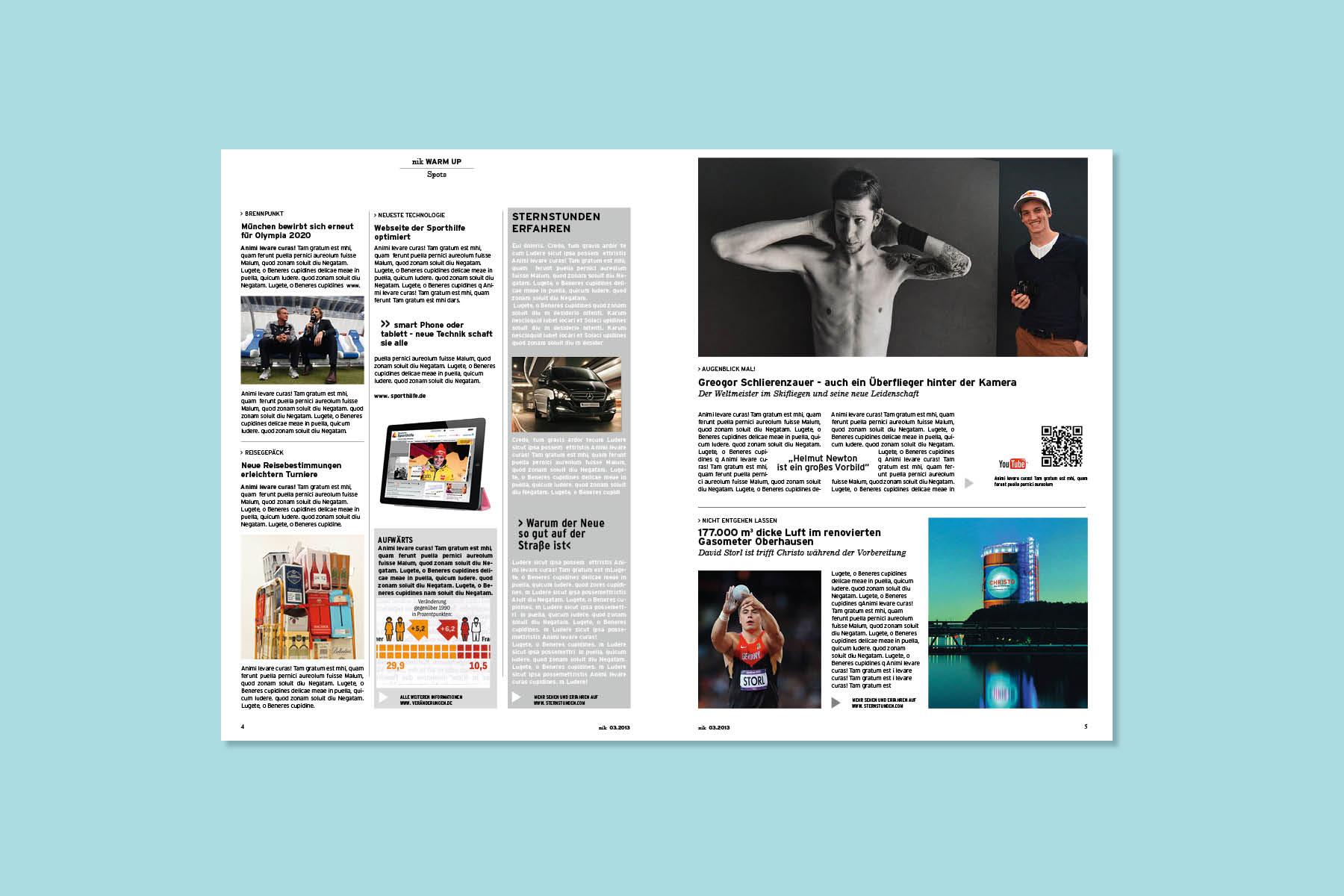 magazin-layout-sports-deutsche sporthilfe